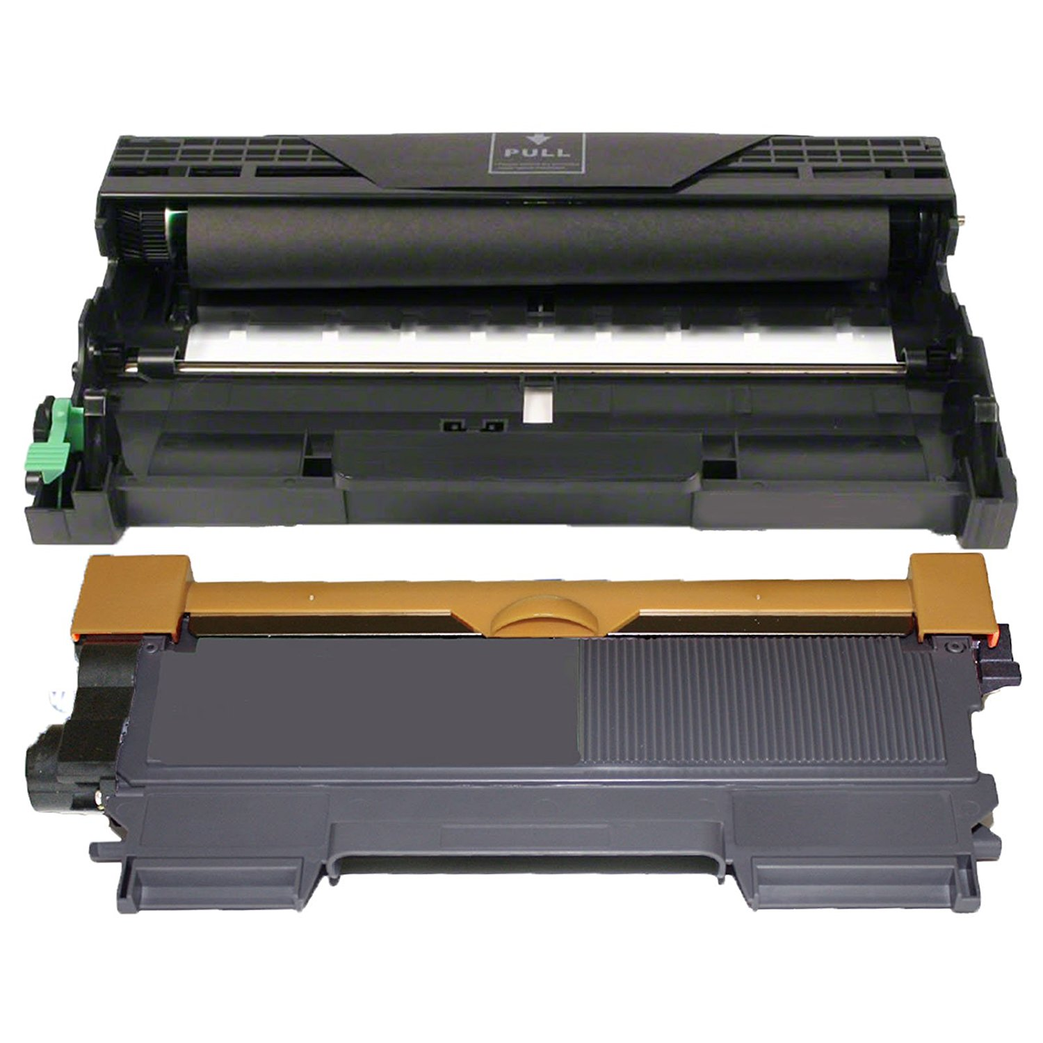 (1 Drum + 1 Toner) Inktoneram Replacement toner cartridges & drum for Brother TN450 TN420 DR420 DR-420 TN-450 TN-420 Set DCP-7060D DCP-7065DN HL-2220 HL-2230 HL-2240 HL-2240D HL-2270DW HL-2280DW