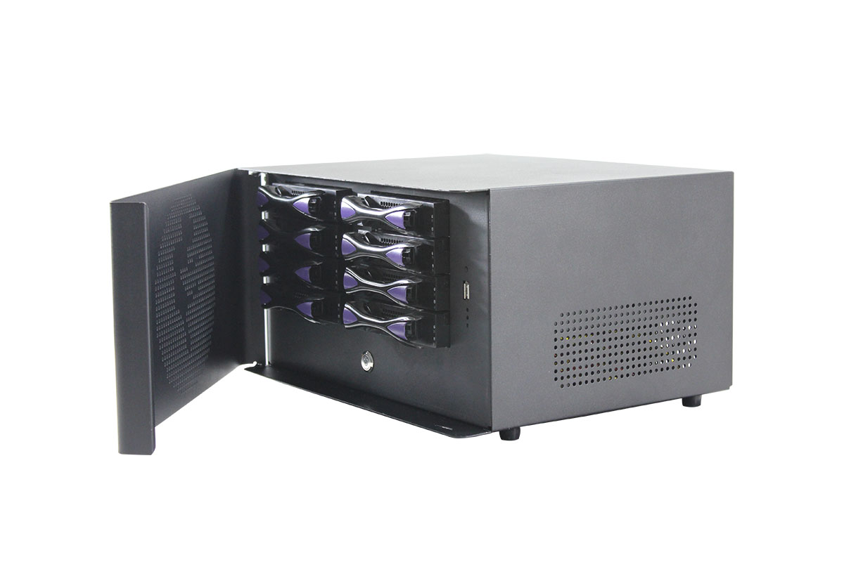 8 bay NAS case hot swap Network Attached Storage NAS server case