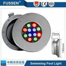 Embedded ip68 stainless 12V LED swimming pool 1w 3w astral underwater light