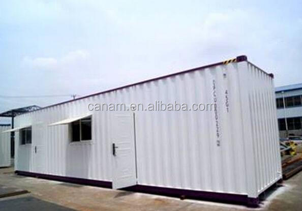 Galvanized Steel Frame Container Home Modified Shipping Container ...
