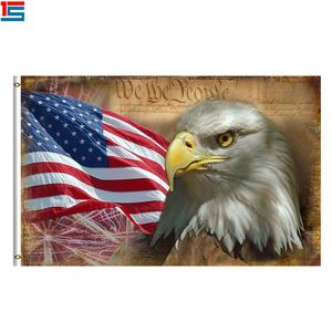 Cheap Price America Eagle 3*5ft Flags Banners