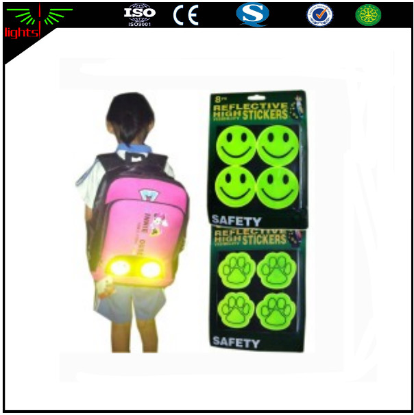 OEM high visibility colorful retro reflective sticker for safety