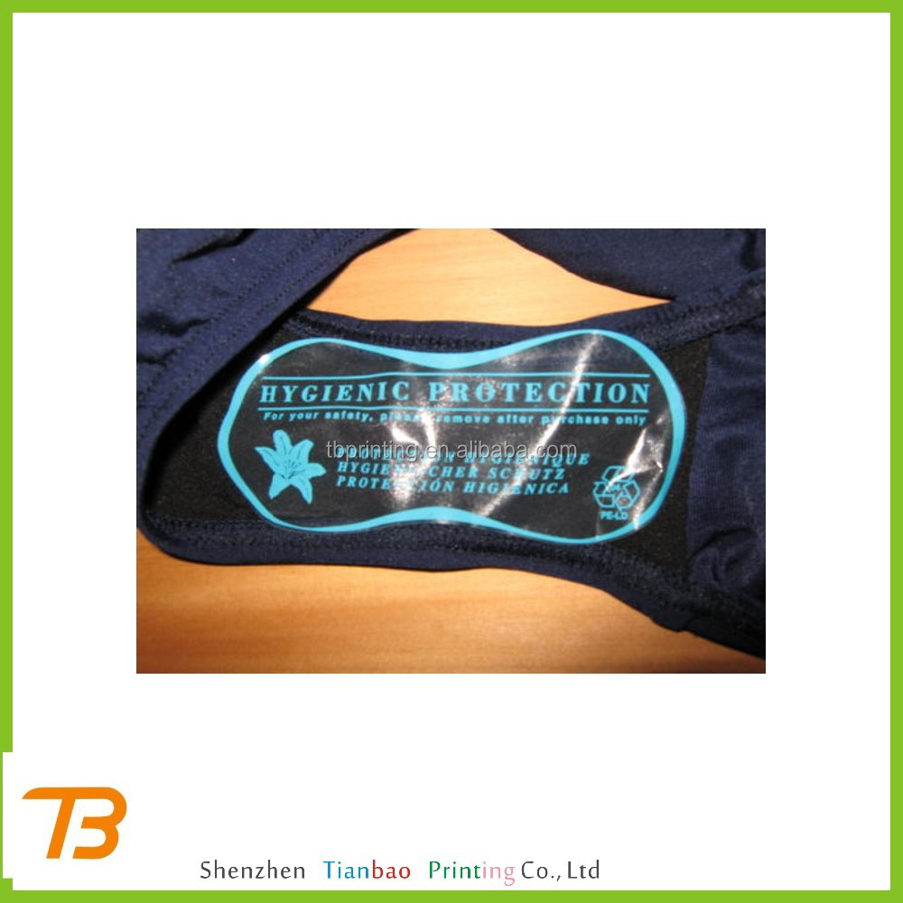 cheap clothing use Hygiene sticker for underwear