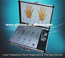 2017 hot selling professional hand acupoint therapy diagnosis machine