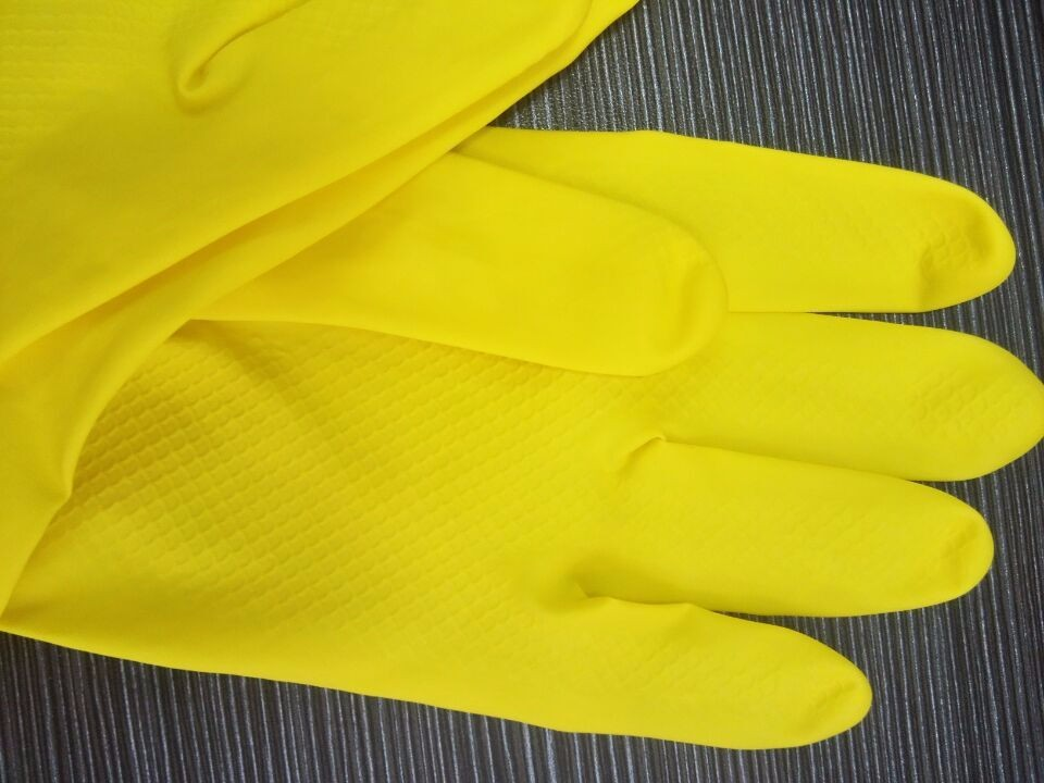 Manufacturer Wholesale Household cleaning tool Latex Gloves Household Dish Washing Gloves