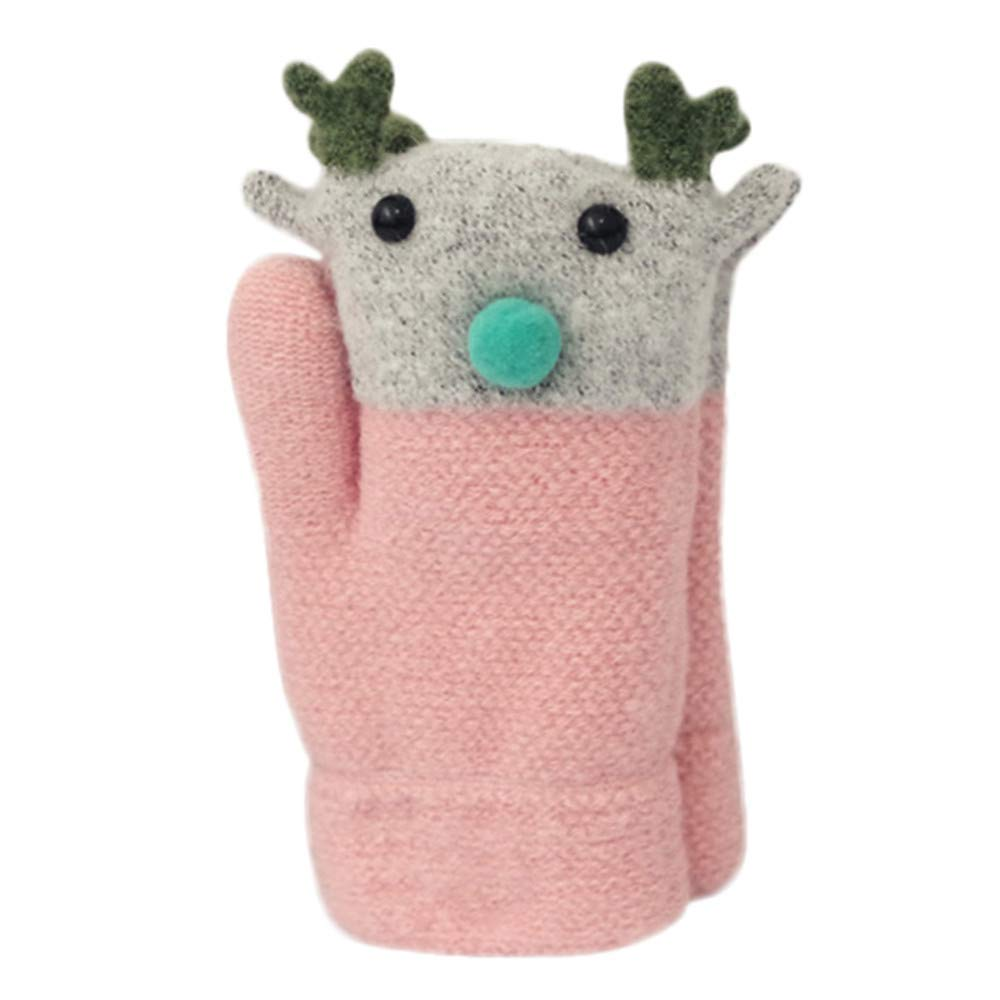 Baby Winter Warm Mittens,Kids Warm Thick Knit Mittens Boys Girls Winter Gloves