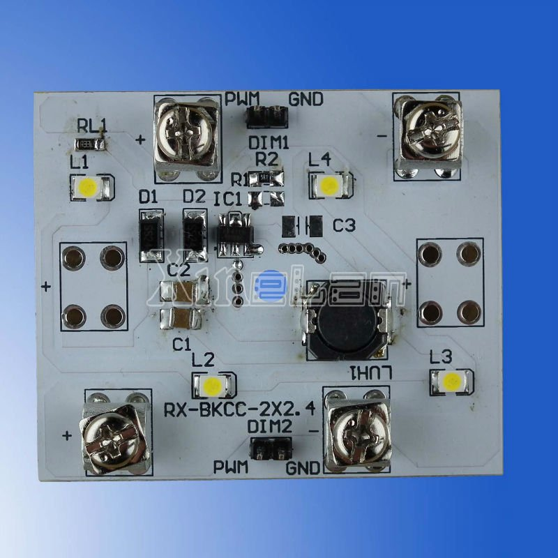Non-waterproof 24v led panel light with PCB, constant current chips, SMD3528 LED