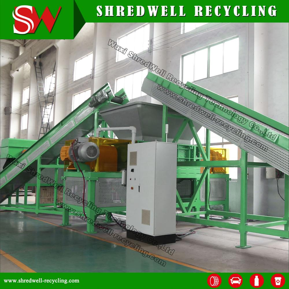 Scrap Tyre Shredder Ts1800 For Recycling Truck Tire Produce Tdf Rubber  Chips - Buy Tire Shredder,Tyre Shredder,Scrap Tyre Shredder Product on