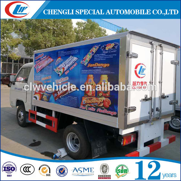Good Design ice cream refrigerated box truck ice cream carrier Cooling Truck Van