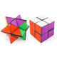 Newest Amazing Colorful Plastic Infinity Cube Unlimited Transforming Geometric magic Cube For Stress Relief