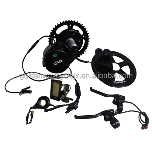 diy china e-bike kit 8fun bafang BBS-02 36v 250w mid drive electric motor for bike