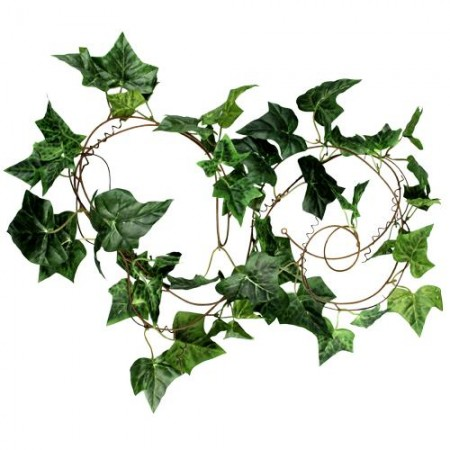 VIVREAL9FT Artificial Silk Ivy Foliage Green Leaf Garland