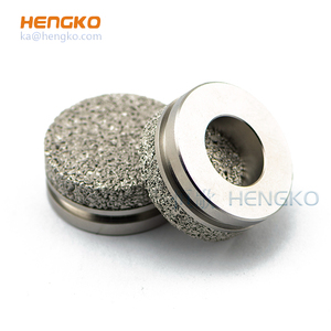 5 20 micron porous sus 316l ss stainless steel sintered filter disc for infiltration instrument