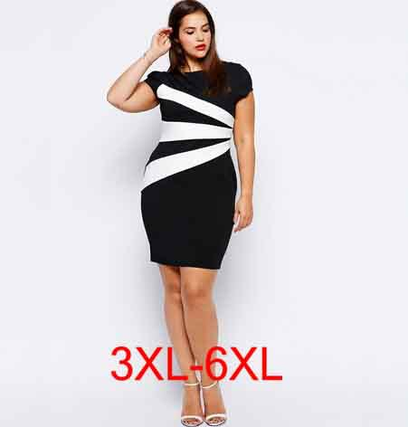 b5a43d97efa plus size 4XL 5xl sexy dress for fat women bodycon skinny dresses fashion  European office lady large size short sleeve vestido