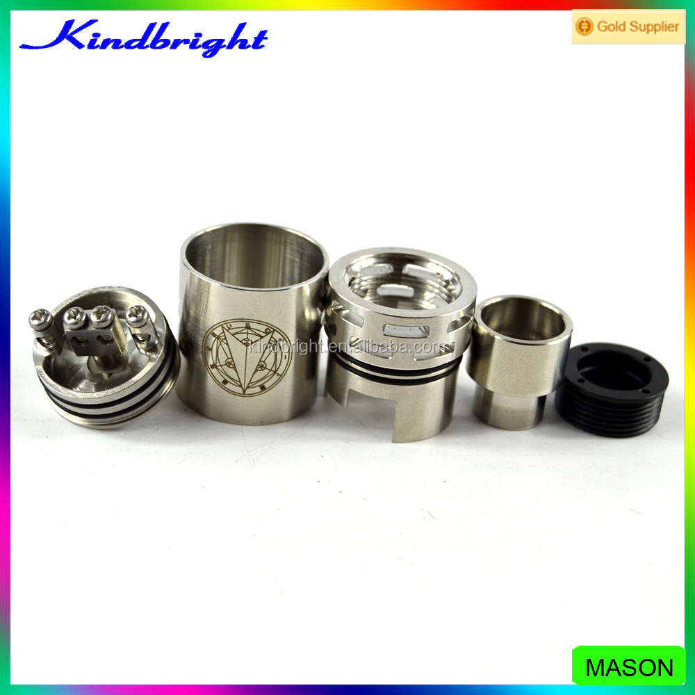 In stock !! mason rda 1:1 clone mason rda clone /mason rda atomizer kindbright for sale