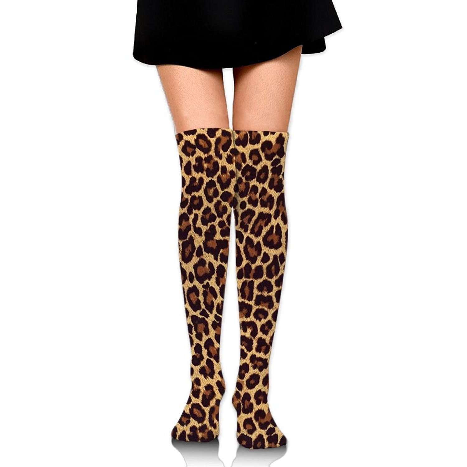 Zaqxsw Leopard Women Graphic Thigh High Socks Girls Socks For Girls