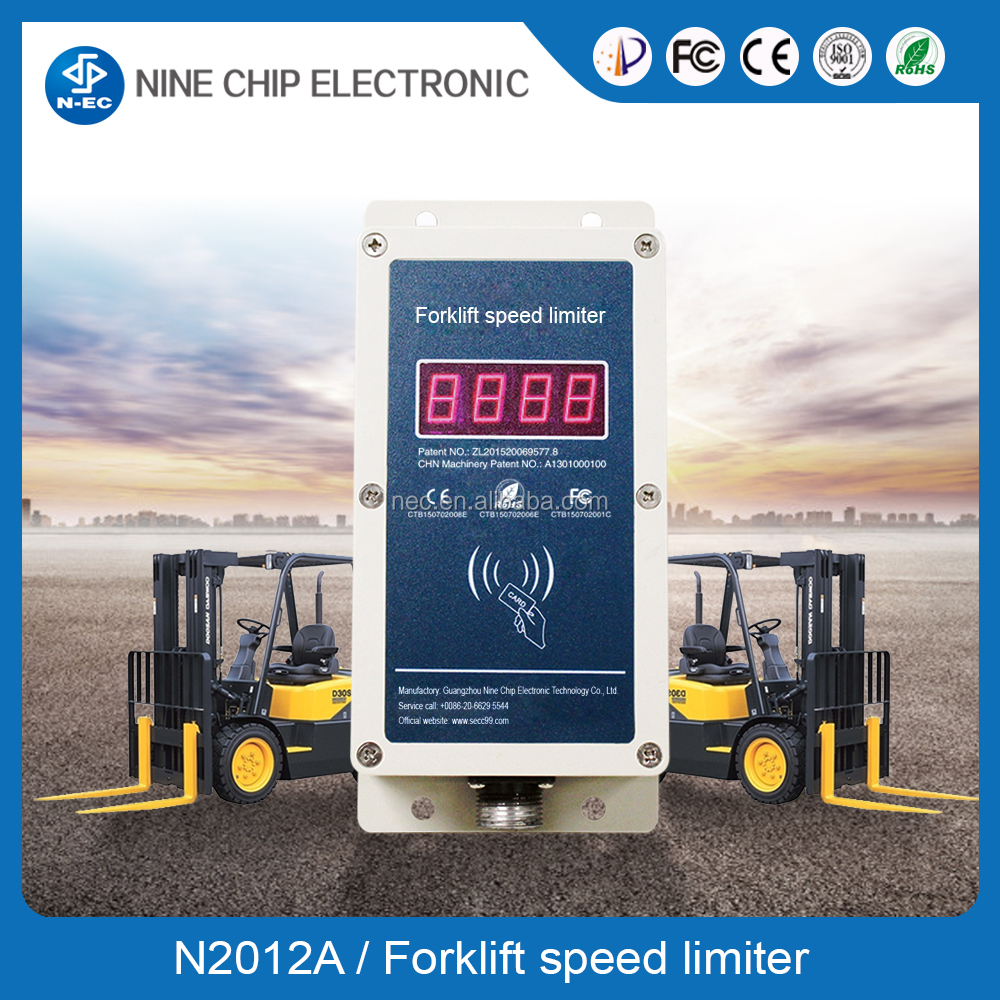 N2009A Forklift speed Limit device , fork Lift Speed Limiter , safety systems & controls