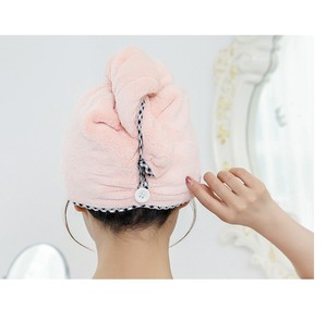 Best Supplier cheap price microfiber dry hair personalized Sexy shower bath cap