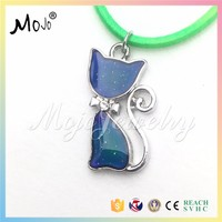 Import Export Company Choker Jewllery on Alibaba Collana Website Fine Jewelry Necklace Costume Jewelry 2017 Silver Cat Pendant