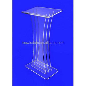 New top sell glass lectern