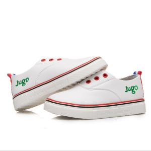 Manufacturer China Kids Girls White Loafer Casual Shoes For Children