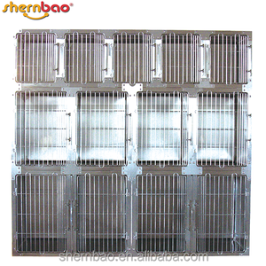 Shernbao KA-509 Modular Cage Round Cornered Pet Dog Cages Kennel