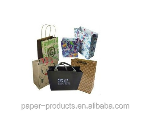 Dongguan China manufacturer paper shopping bags /paper gift bags /kraft paper bags wholesale