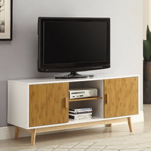 Combo colors latest wooden lcd tv stand design