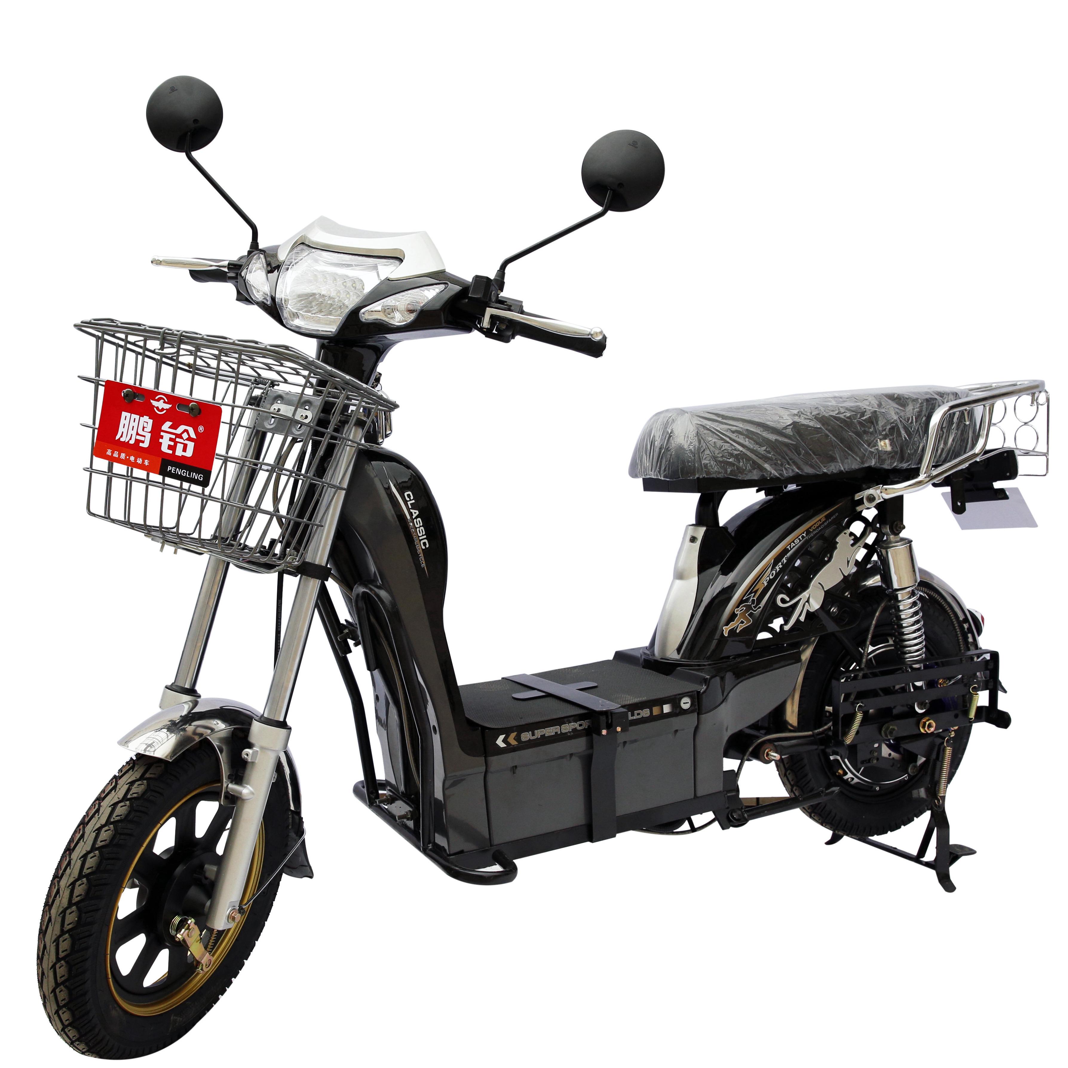 Classical light weight electric cargo bike chopper motors China