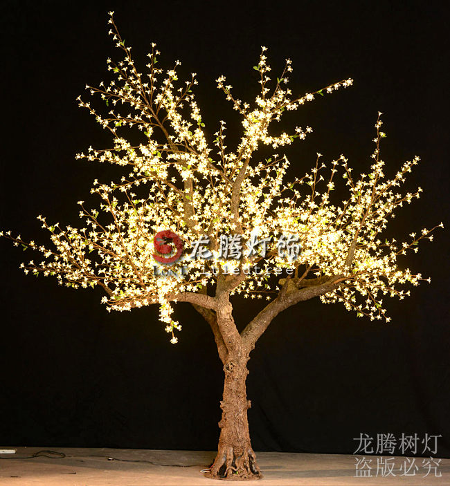 Outdoor artificial Warm white led cherry blossom tree light