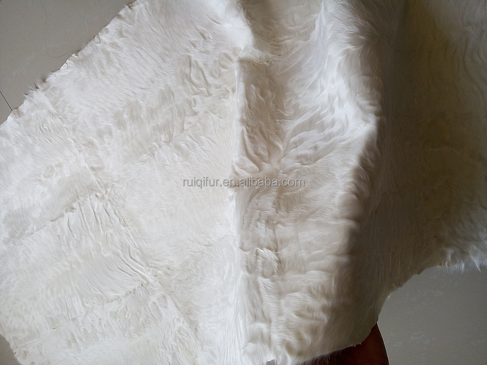 Top quality and factory price lamb short curly hair Fur plate real fur fabric