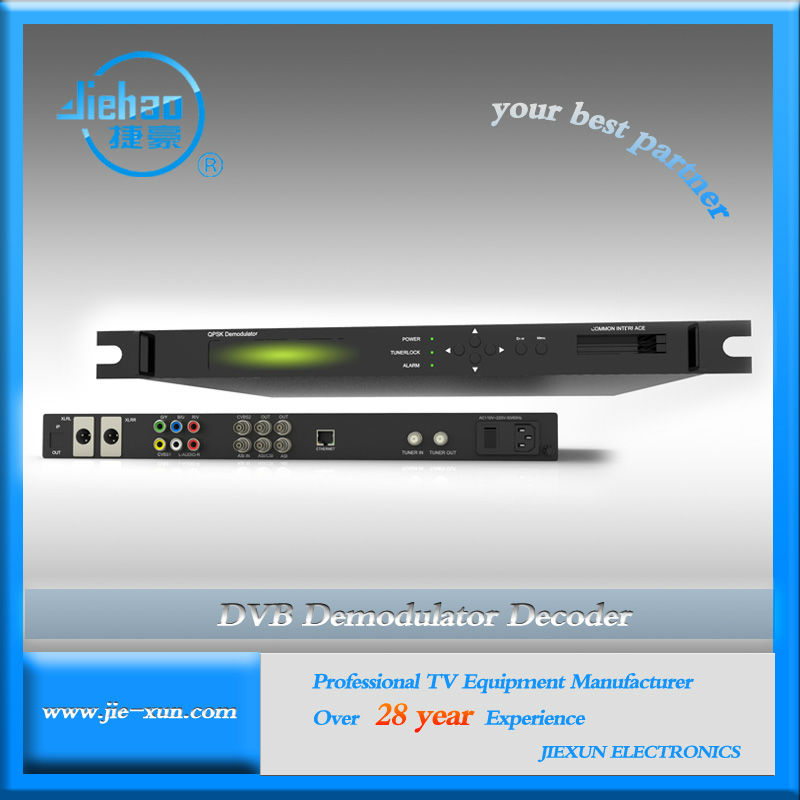 KU band satellite receiver with 2 CI slots support Irdeto/Conax/Viaccess CAM