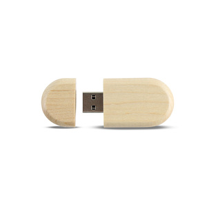 Bulk Wooden USB Flash Drive New Style USB Logo Customized USB Pen Driver 4GB