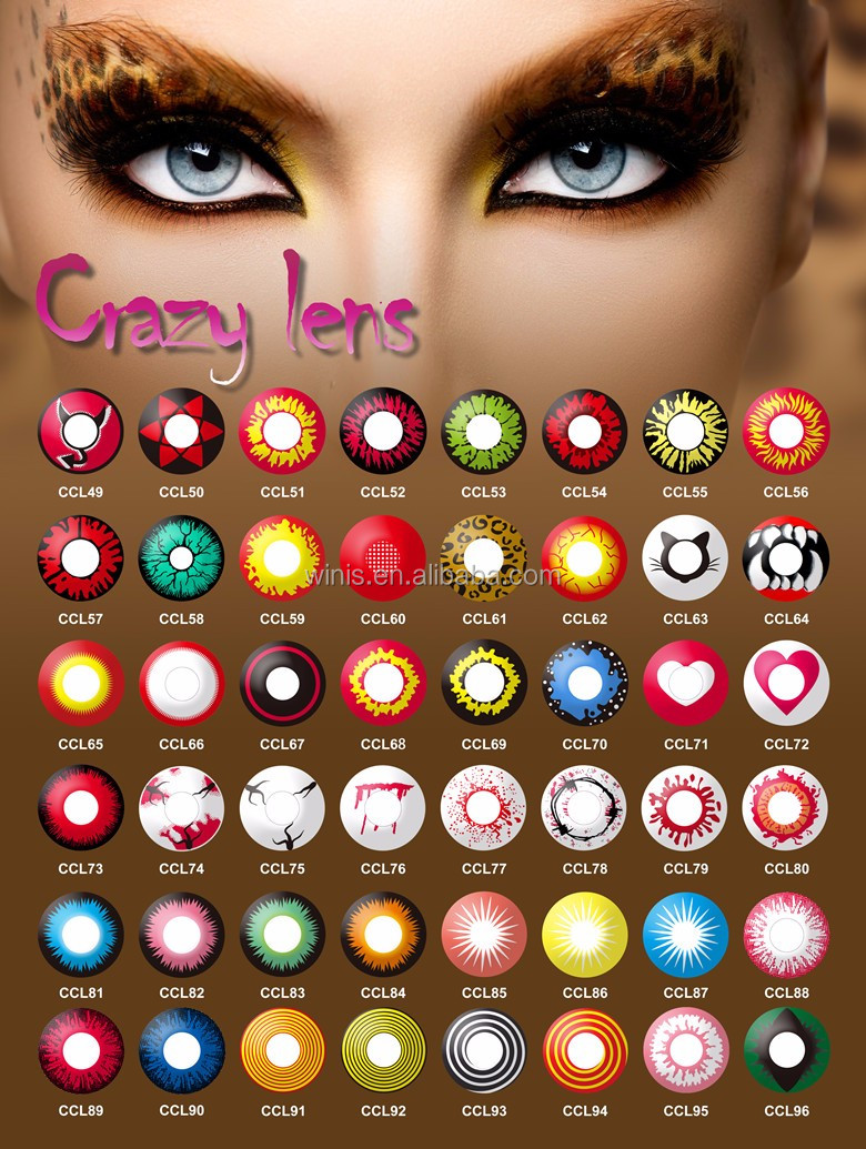 Colored Halloween Contacts