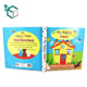 template free 3d colorful adult english Hardcover children picture story book