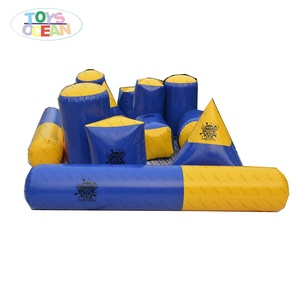23pcs outdoor air sealed l inflatable paintball bunker x x for sport team training