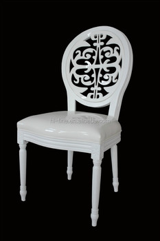 2015 Wedding Louis Chair. Acrylic Chair. Leather Chair /white Wedding Chair