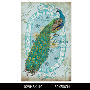 Osm Art Supply High Quality Print Modern Wall Art Peacock Painting For  Living Room Beautiful Peacock Painting For Living Room - Buy Print Peacock