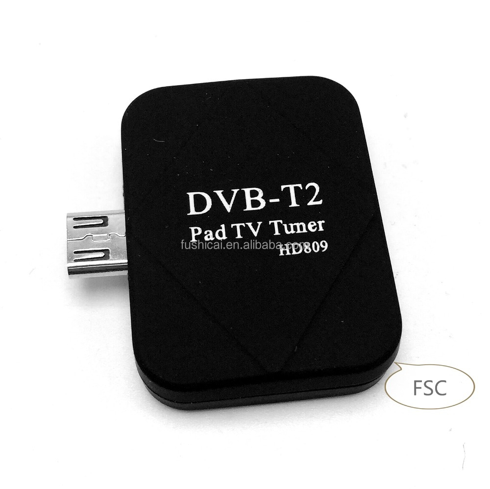 Precio de fábrica Android TV Stick con DVB-T2 Dongle receptor