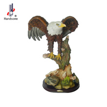 16 Pouce D'<span class=keywords><strong>animal</strong></span> Handmade <span class=keywords><strong>Statue</strong></span> Grand Aigle Statues Jardin <span class=keywords><strong>Statue</strong></span> Aigle