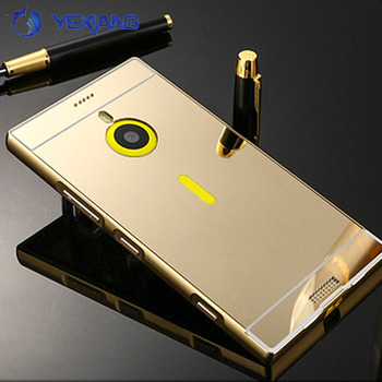 buy online a1ae6 4805e Luxury Aluminum Mirror Cover Case For Nokia Lumia 1520 Bumper Case Back  Cover Housing - Buy For Nokia Lumia 1520 Bumper Case,Cover Case For Nokia  ...