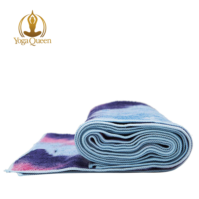 Extra Thick and Super Soft Microfiber Yoga Towel/Sweat Absorbent, Non-Slip, Hot Yoga, Pilates