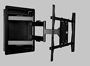 """Recessed In-wall Box Articulating Arm Mount for LED Tv, LCD Tv, Plasma Tv 40"""", 42"""", 46"""" 50"""", 55""""60"""" 70"""" 80"""""""