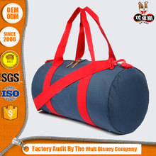 Promotion outdoors polyester custom pro sports duffel bag with custom print