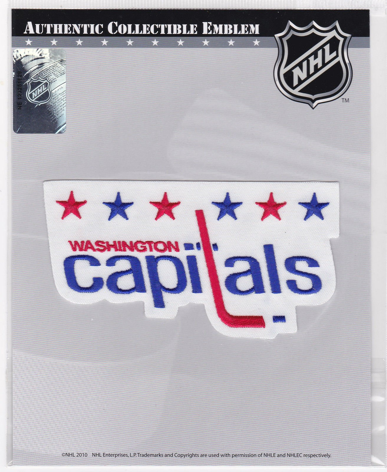 1974-94 Washington Capitals Official NHL Hockey Throwback Winter Classic Team Logo Patch