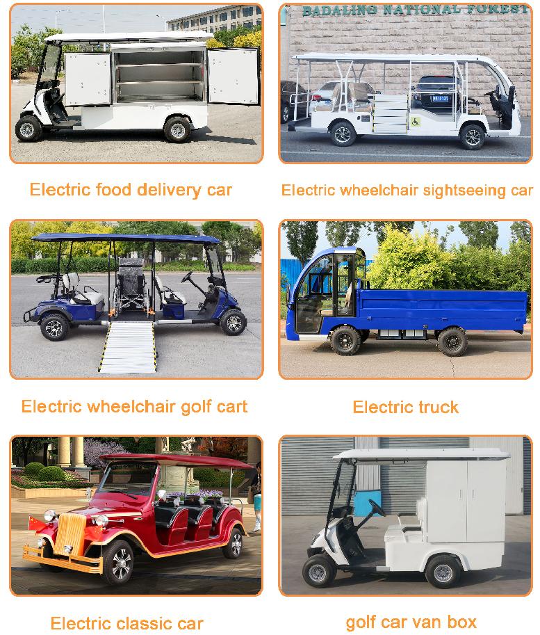 Nuovo Stile Prezzo 6 Posti golf cart elettrico per la vendita