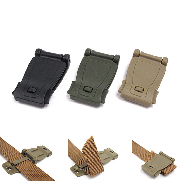 Outdoor molle strap bag webbing connecting clip military backpack accessory durable <strong>buckle</strong>