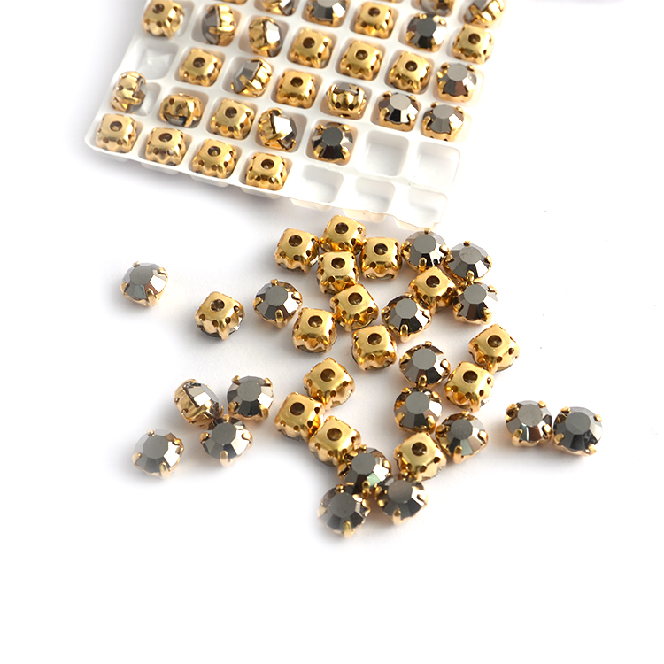 Claw Setting Sew On Rhinestone, Glass Stones Beads For Clothes Decoration