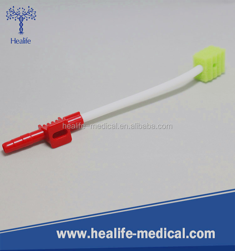 Factory supply ICU use toothbrush oral cleaning suction swab