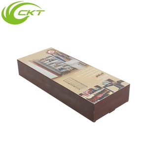 Custom Printed Corrugated Cardboard Paper Packaging Biodegradable Shoe Rack Electric Gift Box